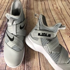 Nike Shoes - NIKE Lebron Soldier XII TB Grey basketball shoes